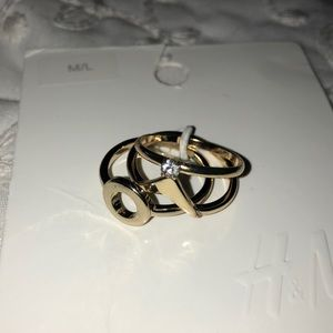 *NWT* H&M ring set